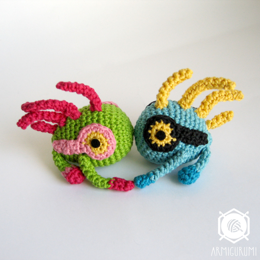 Baby Murlocs amigurumi crochet pattern by fancrafts Design